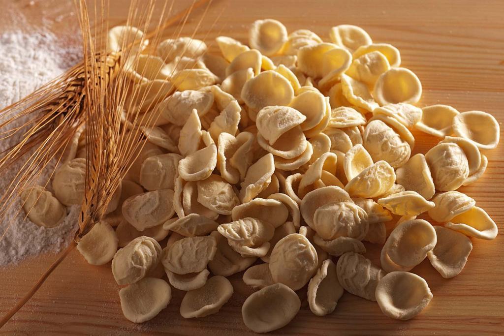 Апулийские ушки. Блюдо родом из Апулии. (Terre dei Trabocchi)