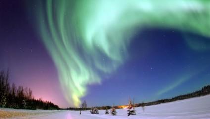 Полярное сияние — природное световое шоу (15 фото)