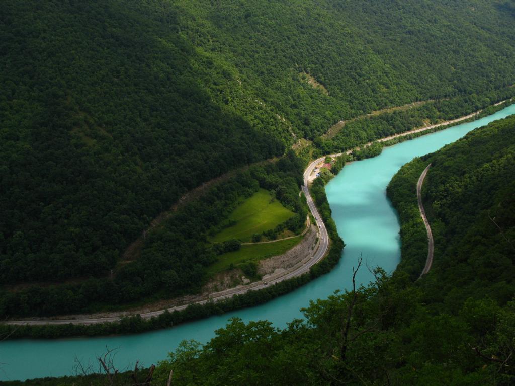Река Соча. (Kaja Avberšek)