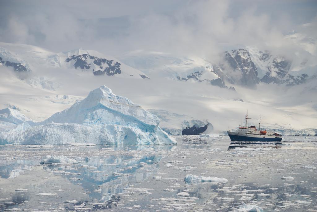 Антарктида. Айсберги. (Christian Stocker)