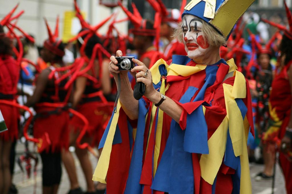 Великобритания. Лондон. Во время Ноттинг-Хиллского карнавала. (Olga Pavlovsky)