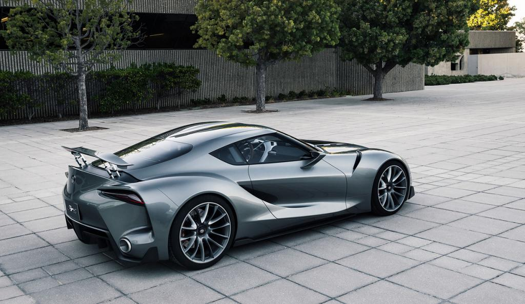 Toyota FT-1 Graphite Concept. (Toyota Motor Company)