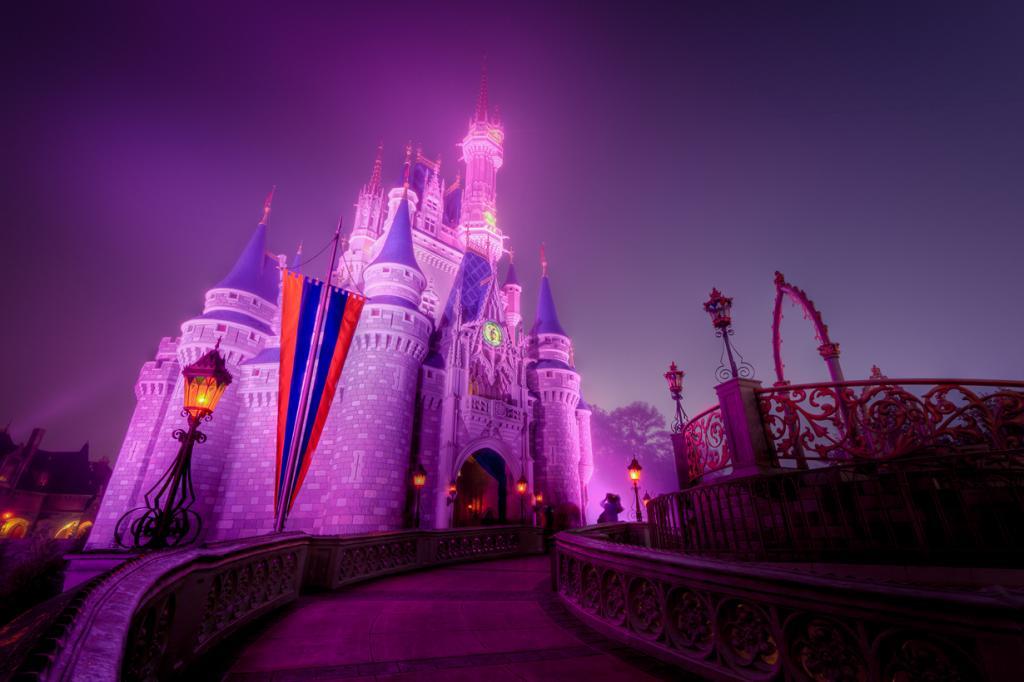 США. Флорида. «Волшебное Королевство» Всемирного центра отдыха Уолта Диснея. (Jeff Krause)