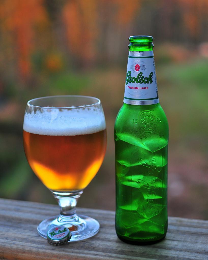 Пиво Grolsch. (Ted Thompson)