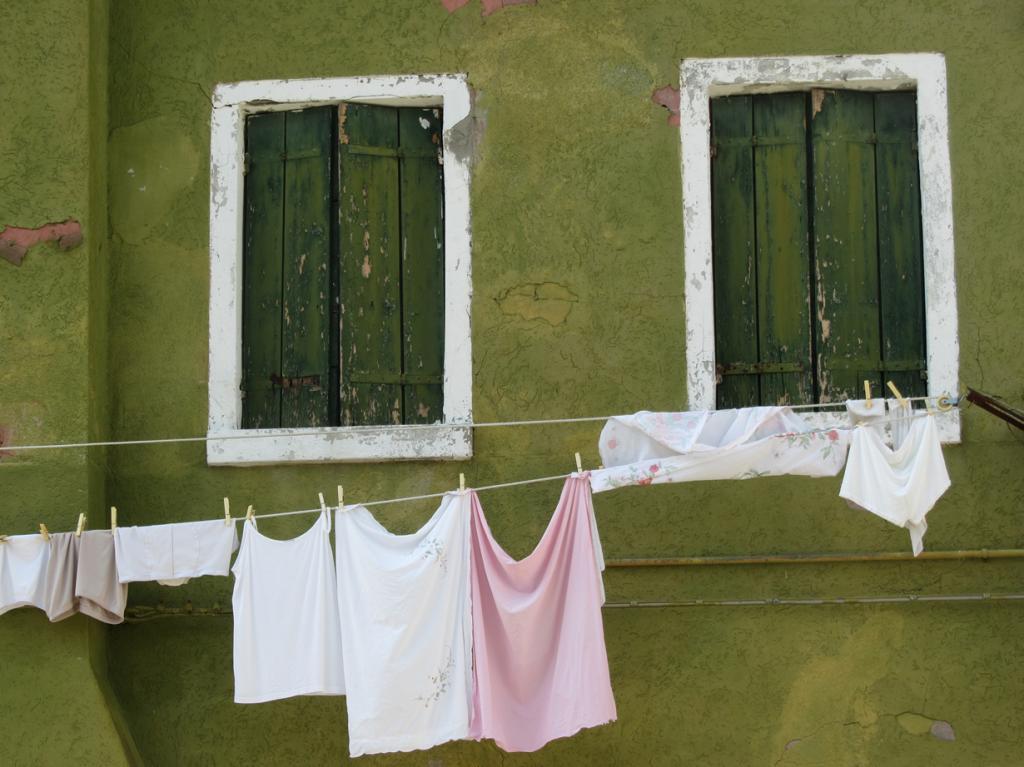 Италия. Венеция. Бурано. (Rick Payette)