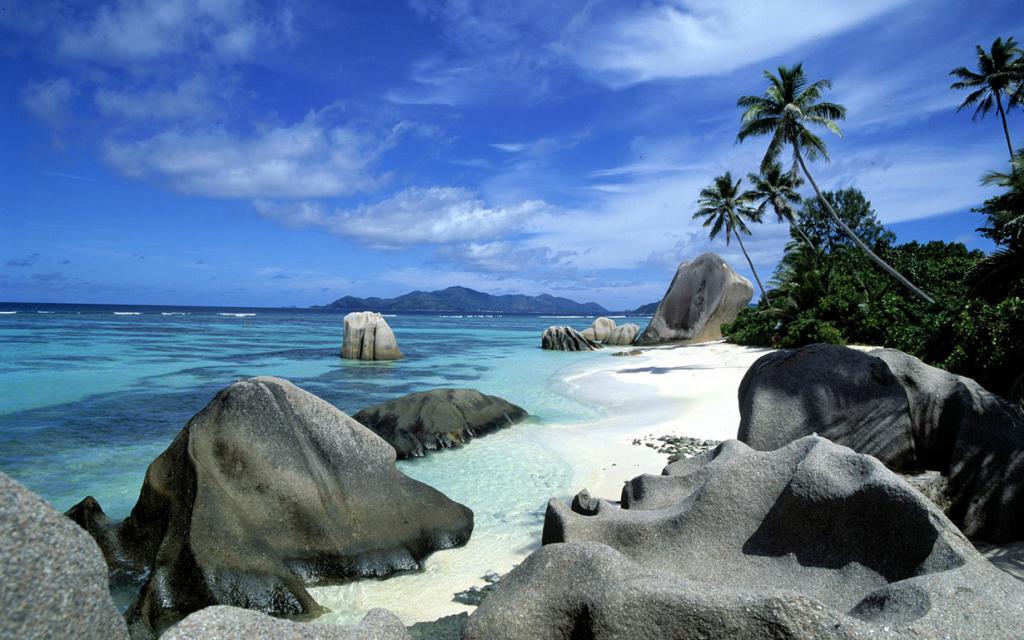 Anse Source D'Argent La Digue Island, Seychelles