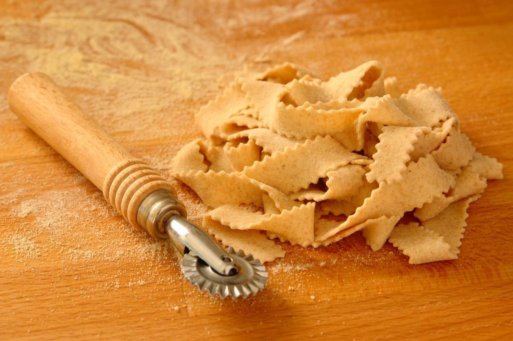 Мафалде — паста в виде лент с волнистыми краями. Блюдо родом из Неаполя. (Francesca Longo)