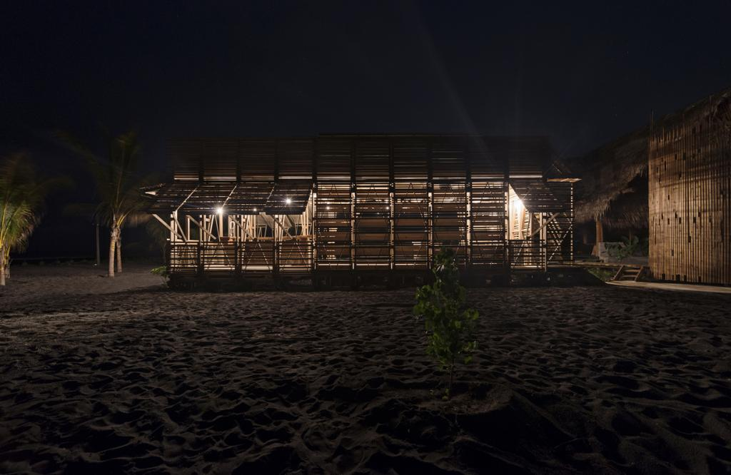Пляжное бунгало в Гватемале. (Víctor Martínez)