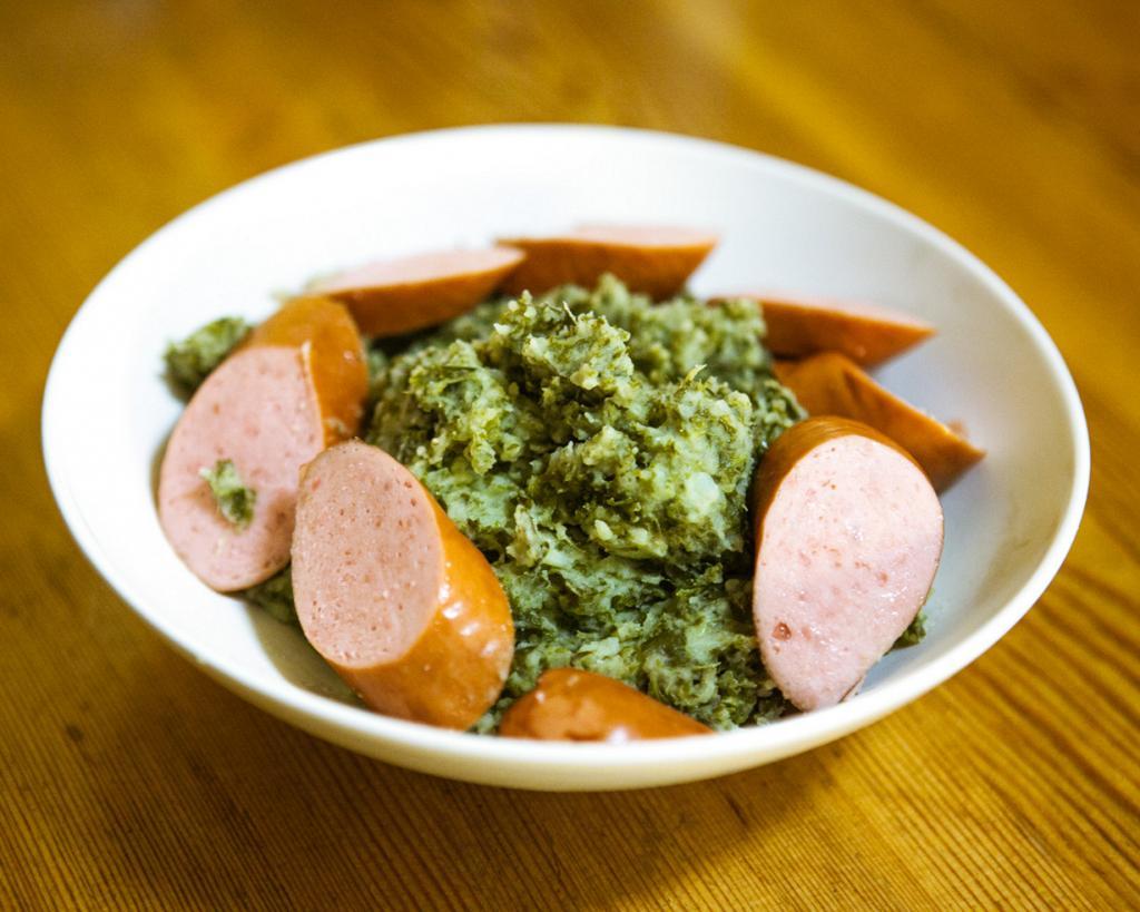 Штамппот — картофельно-овощное пюре. Подают с тушеным мясом или фриканделами. (Øystein Alsaker)