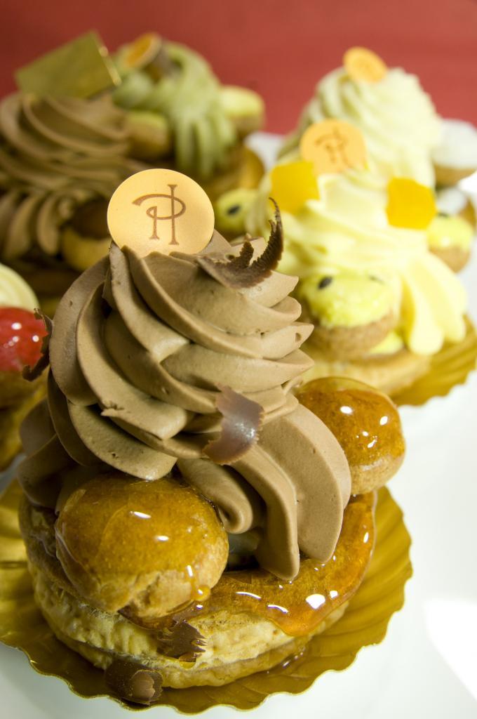 Пирожное «Сент-Оноре». (Yuichi Sakuraba)