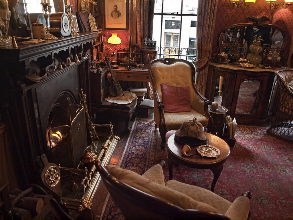 Дом Шерлока Холмса. (Neil Howard)