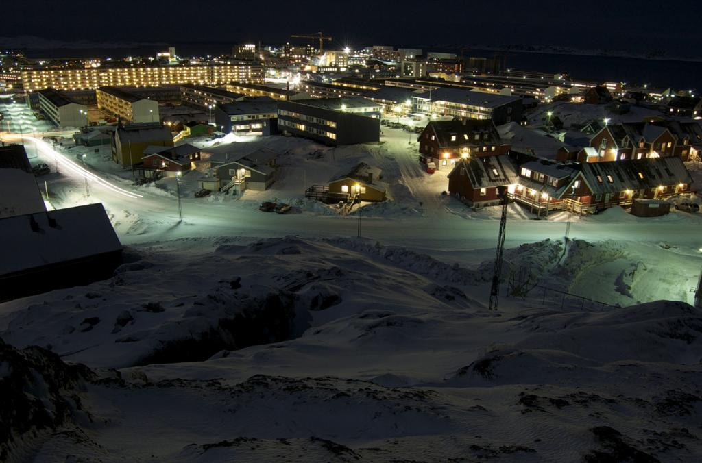 Гренландия. Нуук. (Peter Løvstrøm)