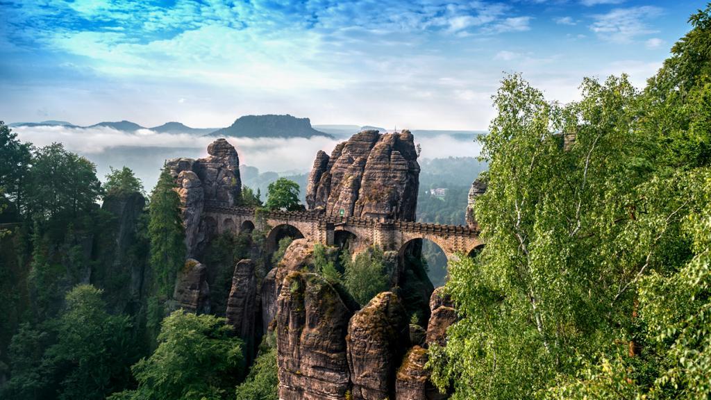 Германия. Саксонская Швейцария. Бастай. (salomon10)