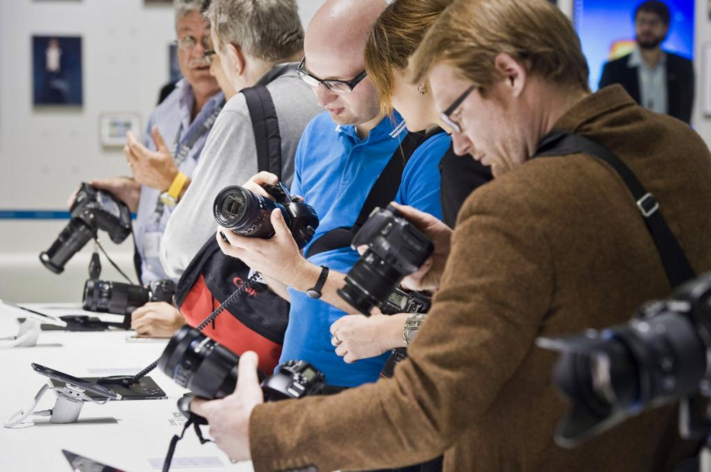 Германия. Кёльн. Стенд Samsung на выставке Photokina 2014. (SamsungTomorrow)