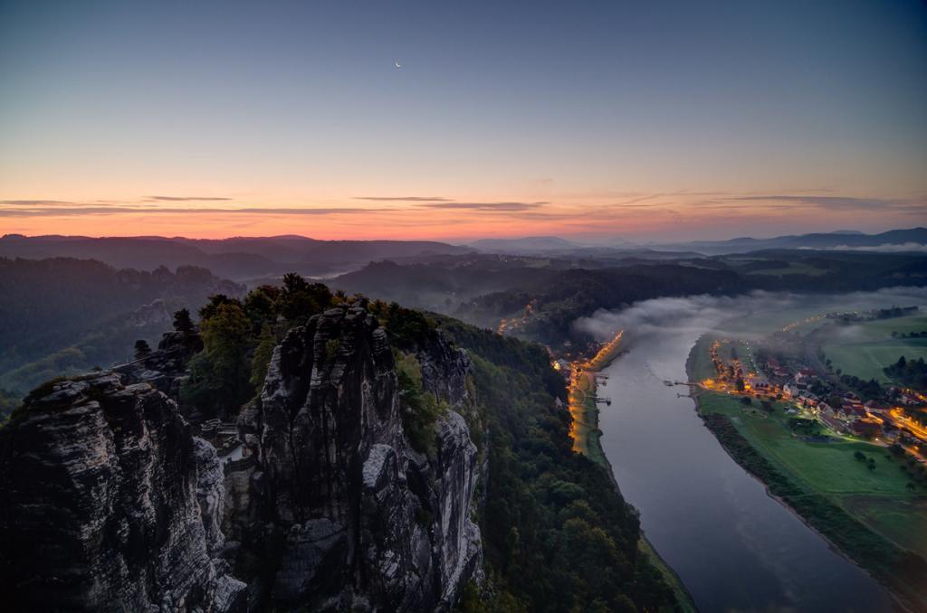 Германия. Саксонская Швейцария. Бастай. (Thomas)