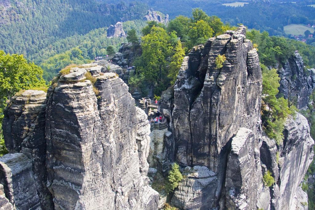Германия. Саксонская Швейцария. Бастай. (eltpics)