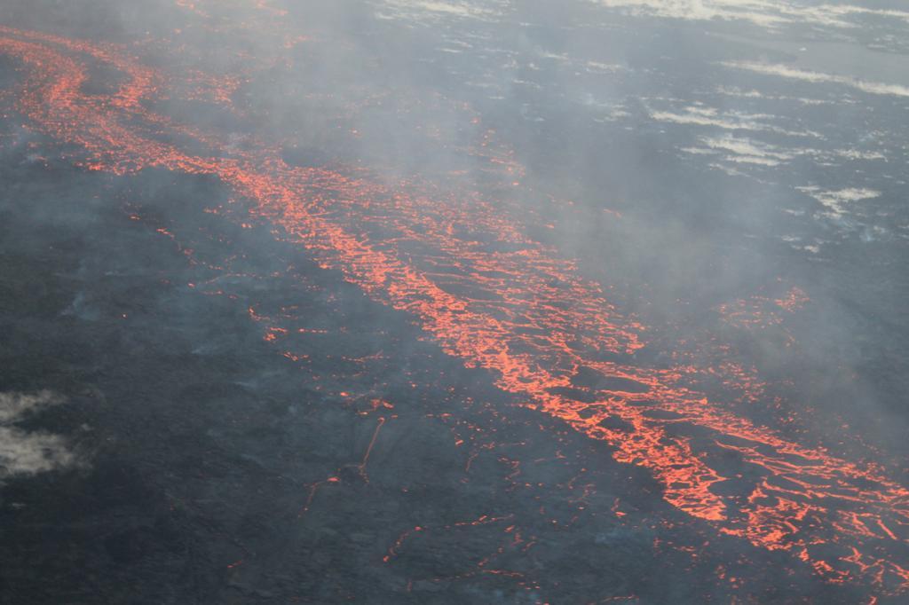 Исландия. Нордюрланд-Эйстра. Во время извержения Баурдарбунга. (peterhartree)