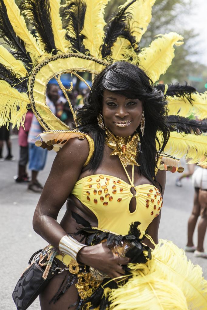 США. Бруклин, Нью-Йорк. Во время Вест-Индийского парада. (Ken)