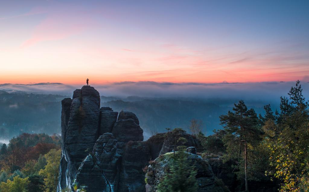 Германия. Саксонская Швейцария. Бастай. (Thomas Teubert)