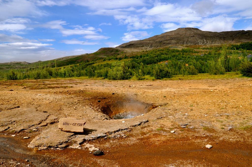 Исландия. Долина Хаукадалур. Гейзер. (Sarah_Ackerman)