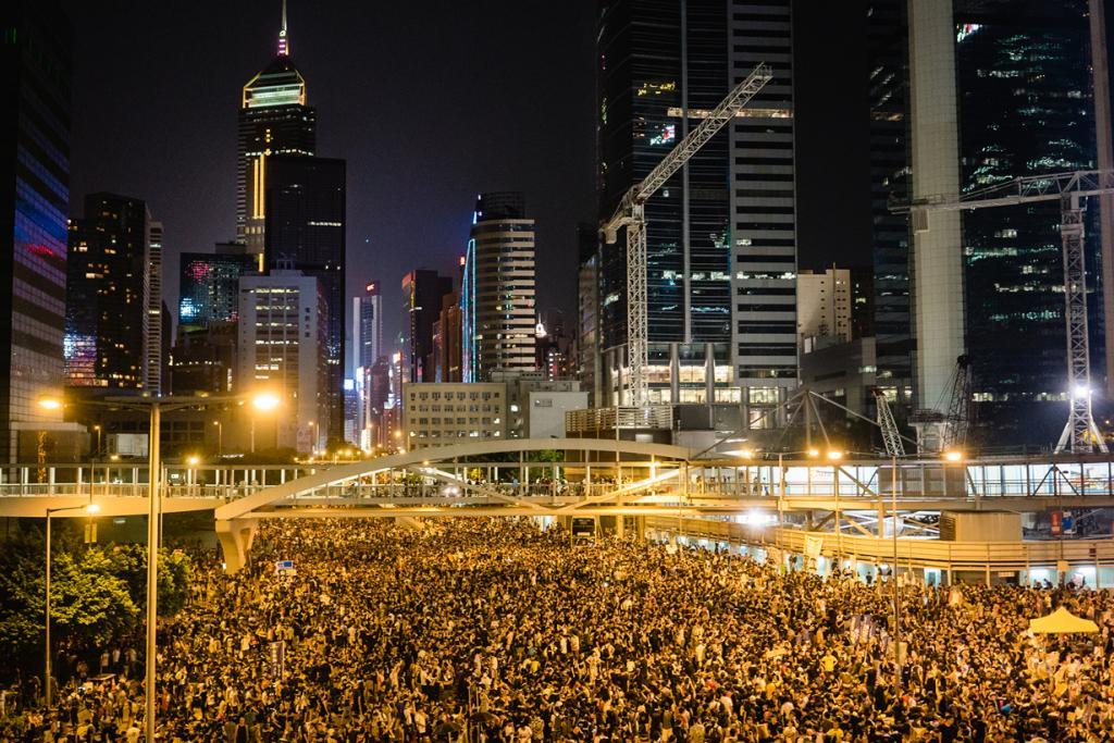 Китай. Гонконг. Во время «Революции зонтов». (Pasu Au Yeung)