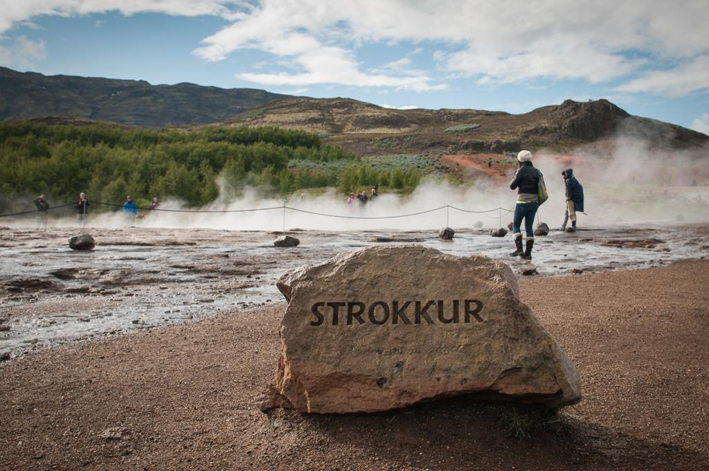 Исландия. Долина Хаукадалур. Гейзер. (Michelle Lee)