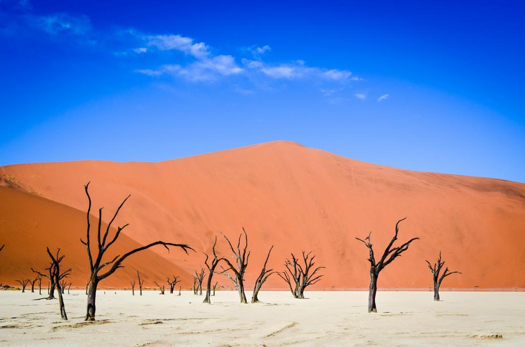Плато Соссусфлей, пустыня Намиб. Мёртвая долина. (jbdodane)