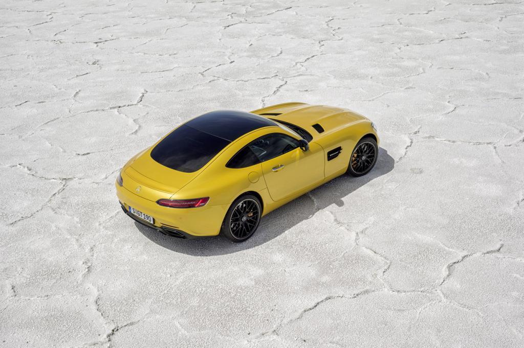 Mercedes-AMG GT. (Daimler AG)