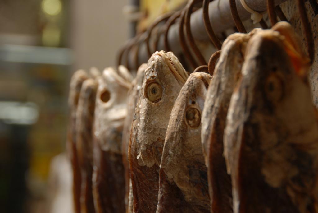 Бакальяу — сушёная треска. Продукт добавляется во многие блюда. (Jo Schmaltz)