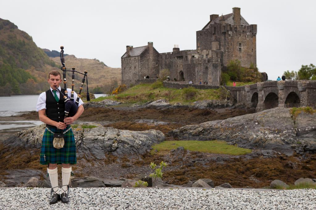 Шотландия. Лох-Дуйх. Замок Эйлен-Донан. (Yann)