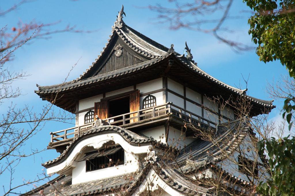 Япония. Инуяма. Замок Инуяма. Был построен в 1537 году; реконструирован в 1965 году. (Yamaguchi Yoshiaki)