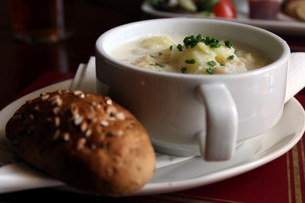 Рыбный суп Cullen Skink . (Metukkalihis)