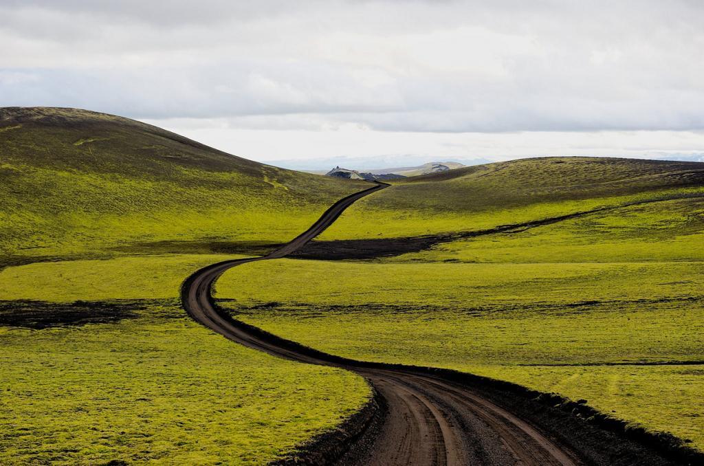 Исландия. Национальный парк Скафтафетль. (Frans Evenblij)