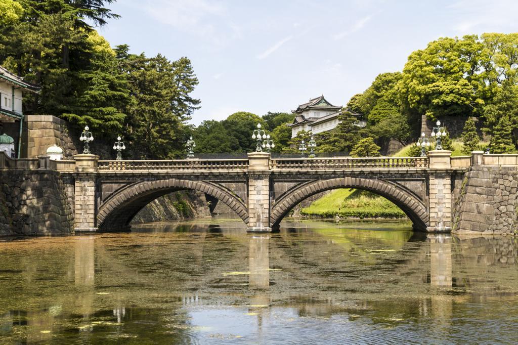 Япония. Токио. Императорский дворец Токио. (yasa_)