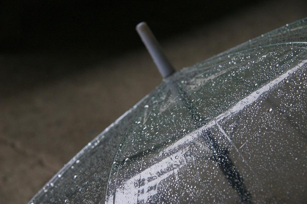 Под зонтом. (Yu)