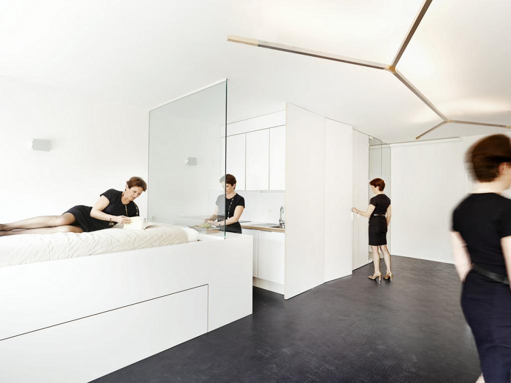 Квартира в центре Женевы (9 фото)
