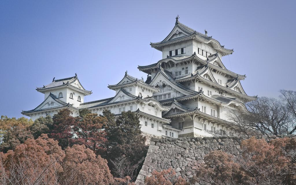Замок Химэдзи. (Sam Gao)