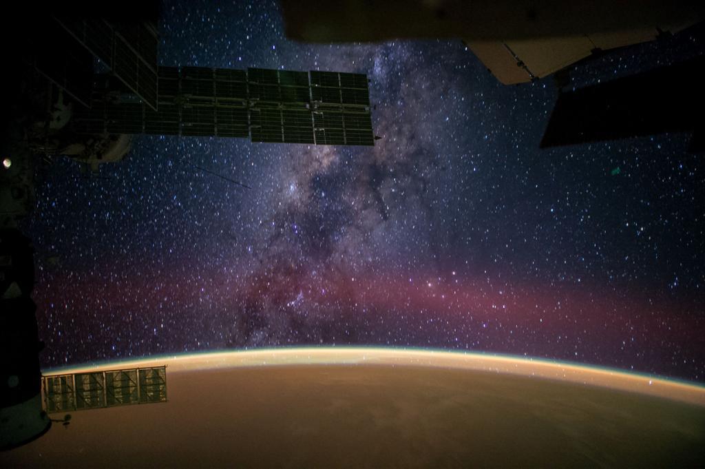 Млечный Путь. (NASA)