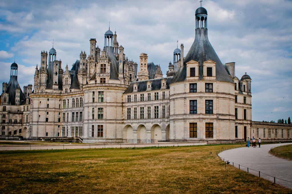 Замок Шамбор. (Adrien Mogenet)