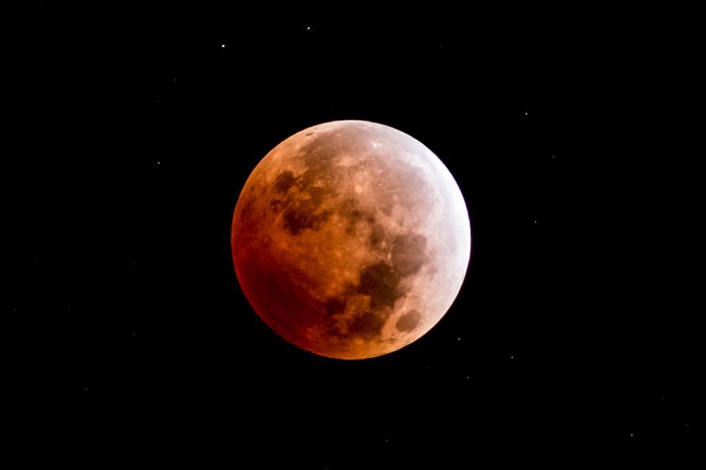 Лунное затмение. (slworking)