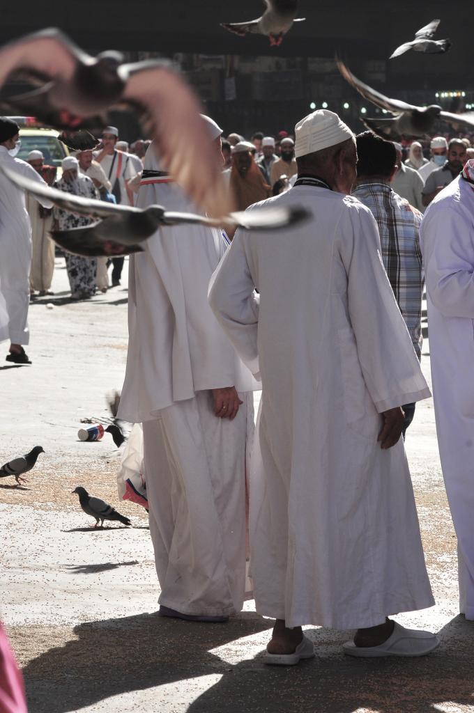 Саудовская Аравия. Мекка. Мечеть Аль-Харам. (Fadi El Binni/Al Jazeera English)