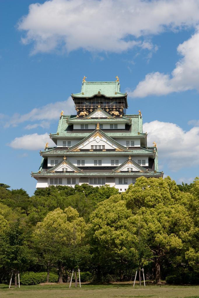 Замок в Осаке. (Nico)