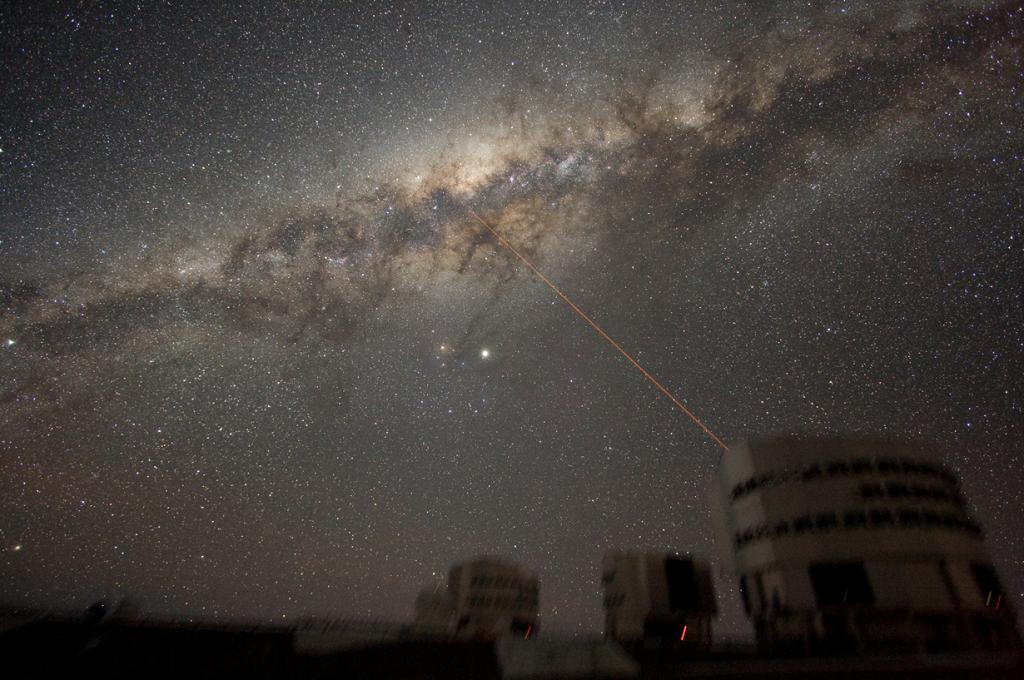 Млечный Путь. (ESO)