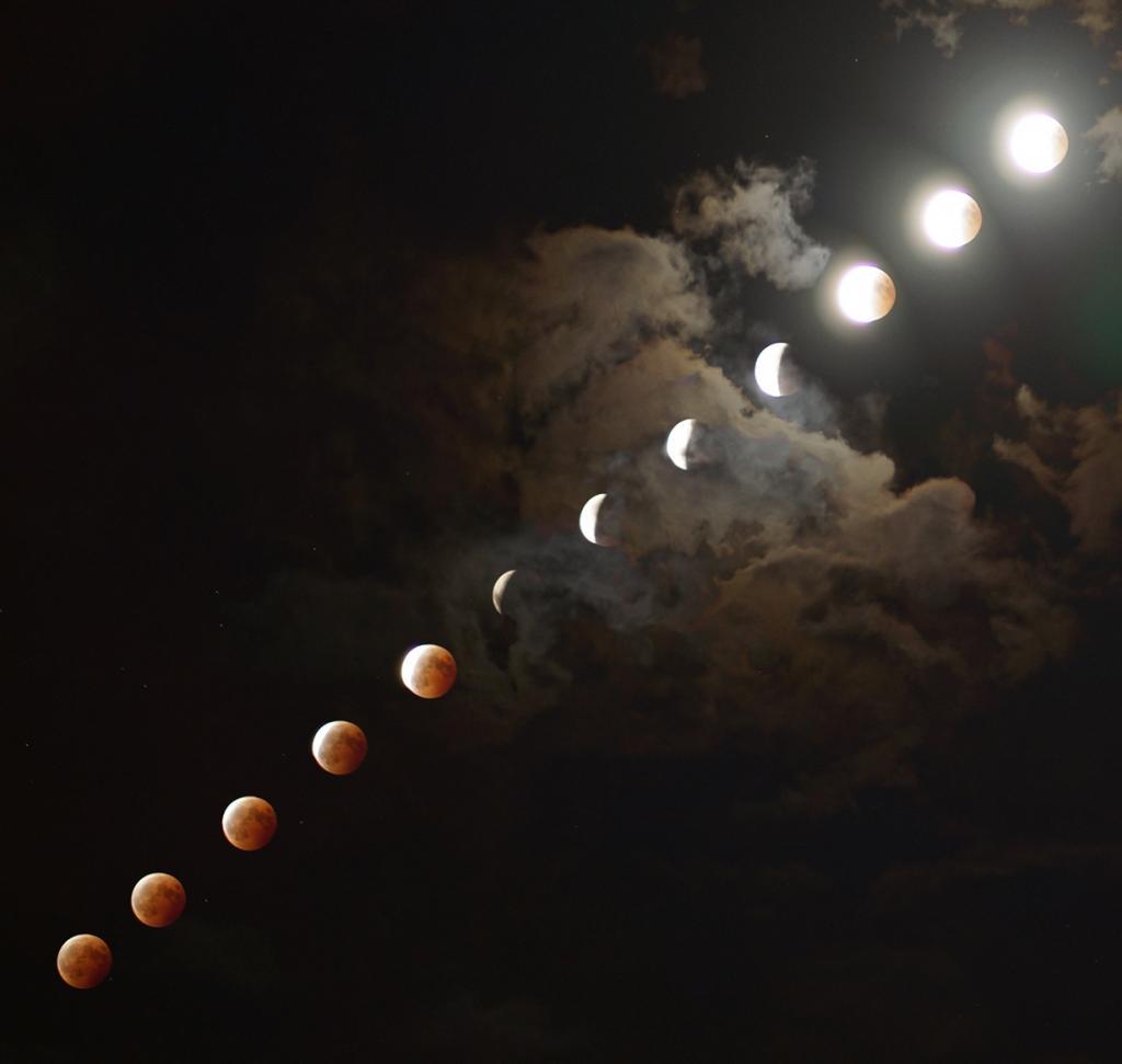 Лунное затмение. (Tetsuro Nakamura)