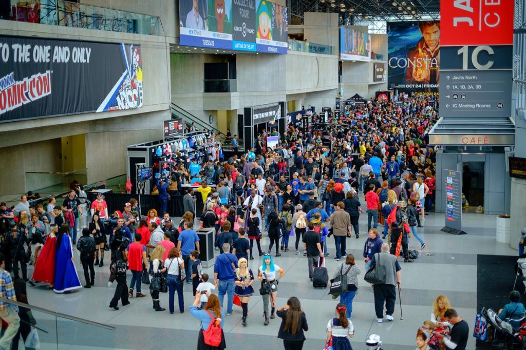 США. Нью-Йорк. 9 октября. Во время фестиваля New York Comic Con 2014. (Dan Alcalde)