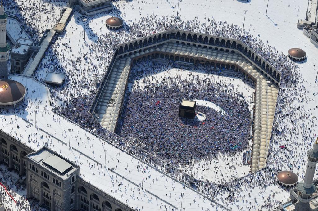 Хадж — паломничество в священный город (7 фото)