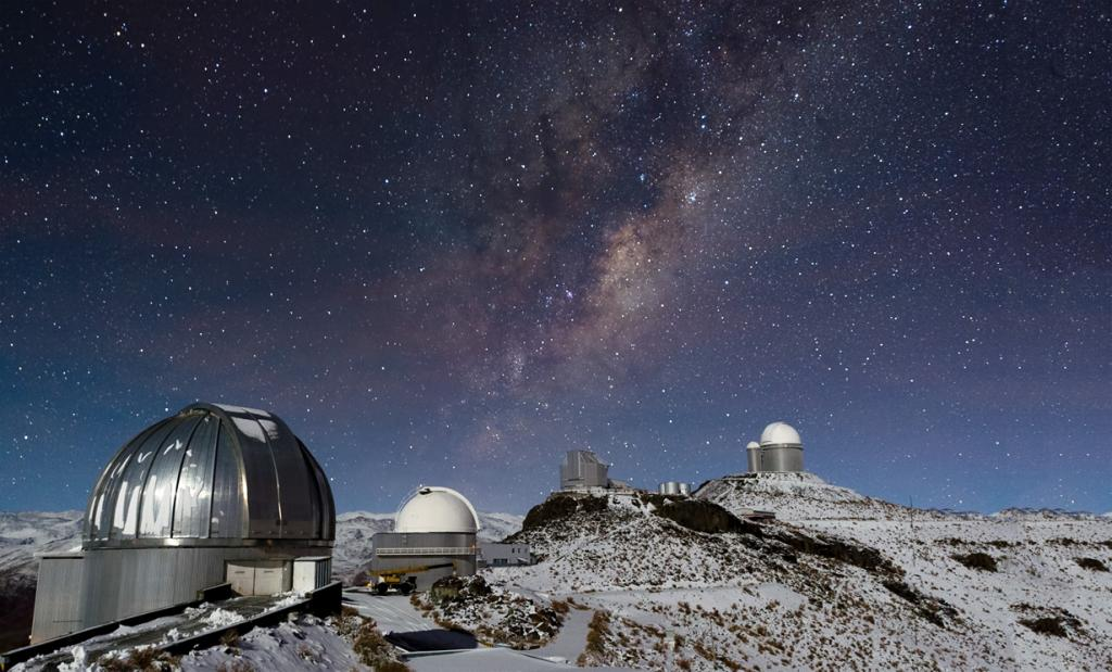 Млечный Путь. (ESO/José Francisco Salgado)
