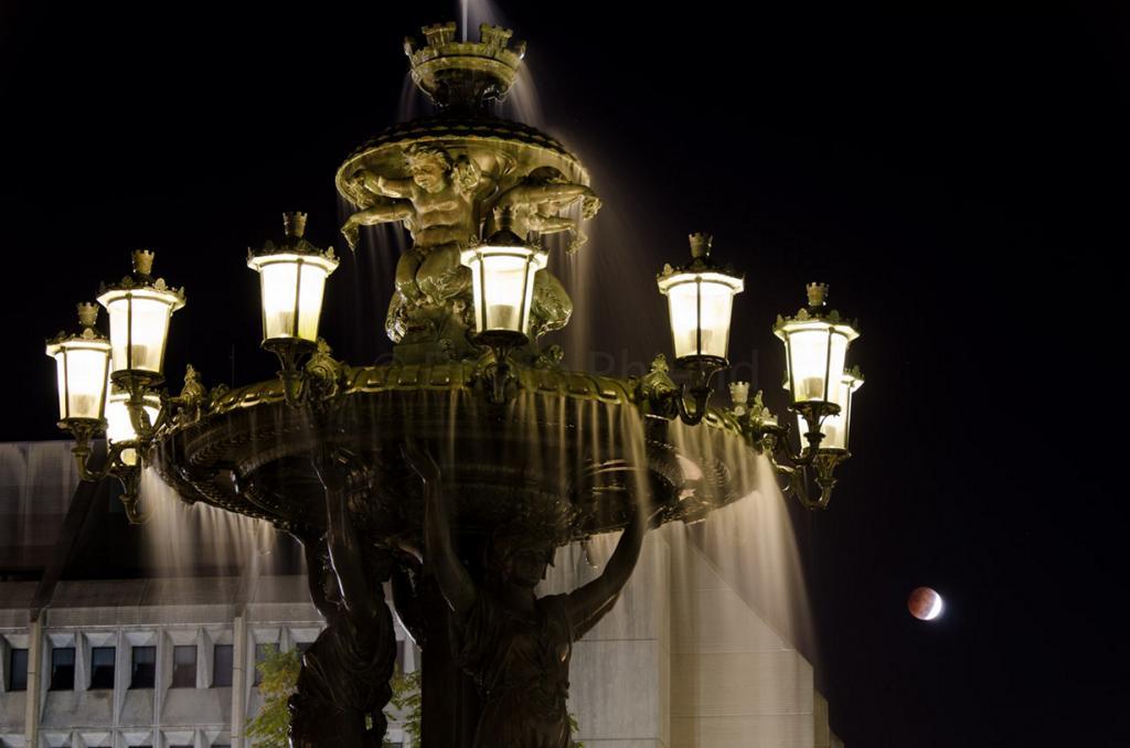Лунное затмение. (Photo Phiend)
