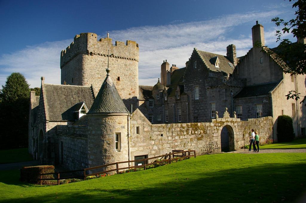 Шотландия. Абердиншир. Замок Драм. (dvdbramhall)