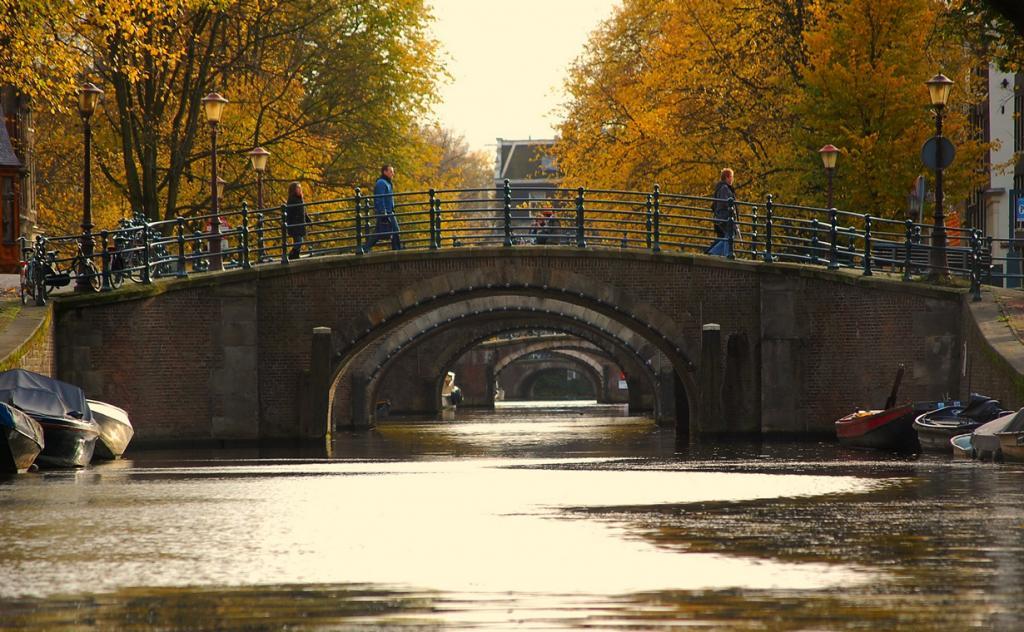 Осень в Амстердаме (18 фото)